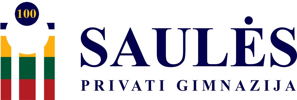 """Saulės"" privati gimnazija Mobile Logo"